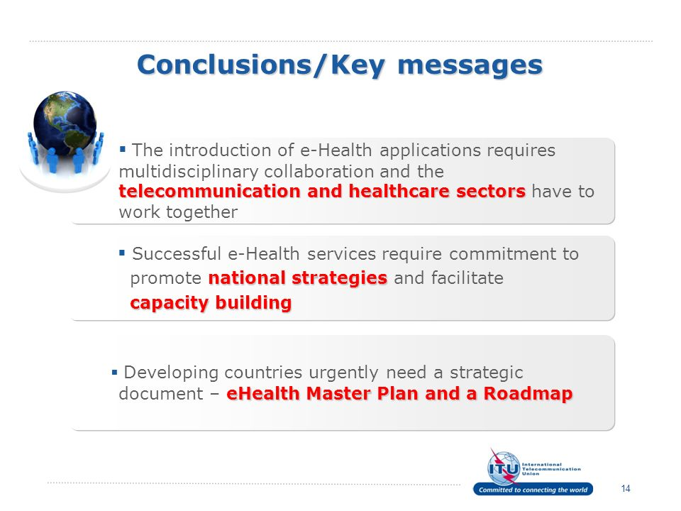 Conclusions/Key messages