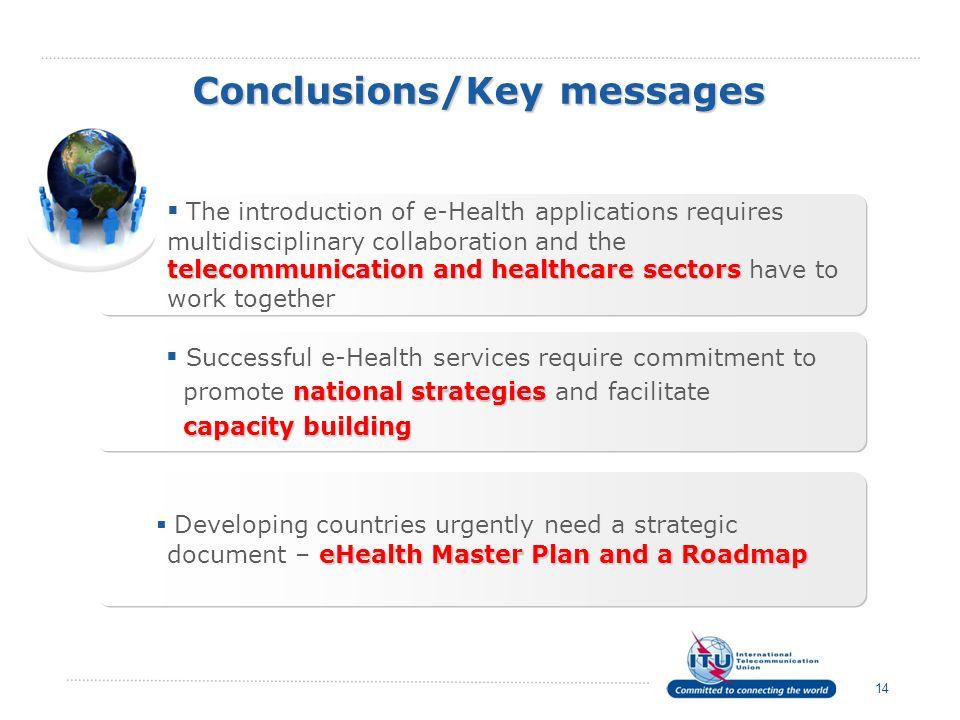 Conclusions/Key messages