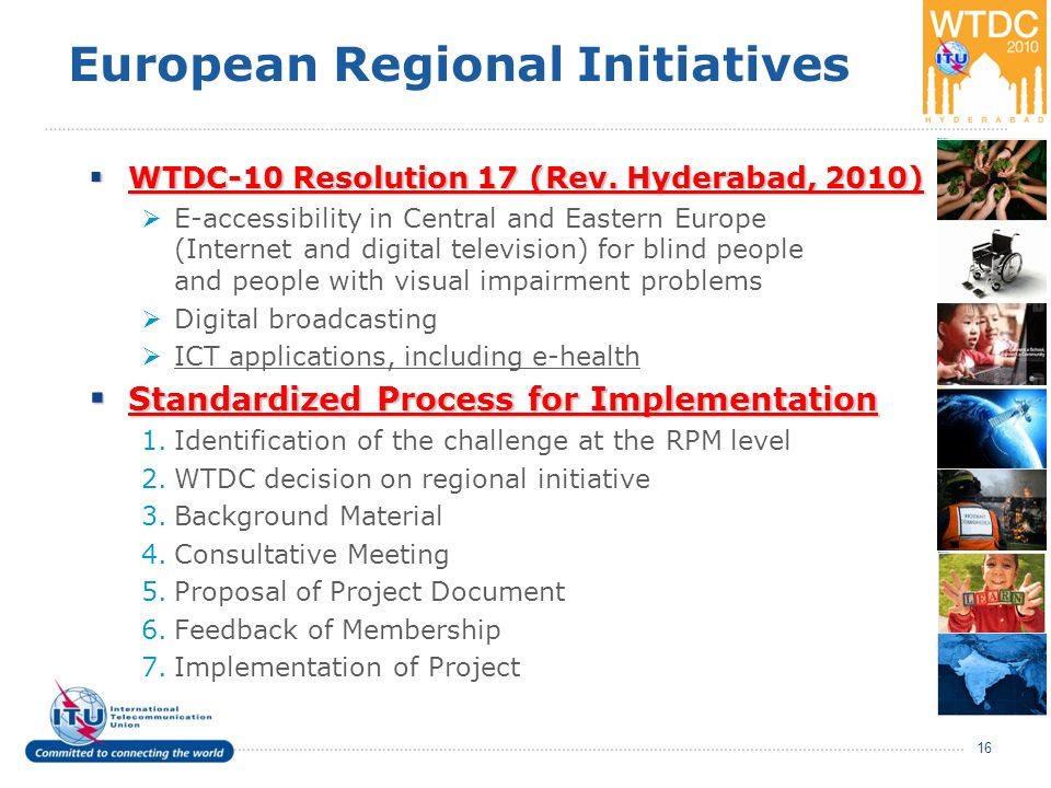 European Regional Initiatives