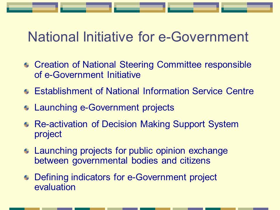 National Initiative for e-Government
