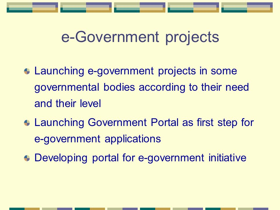 e-Government projects