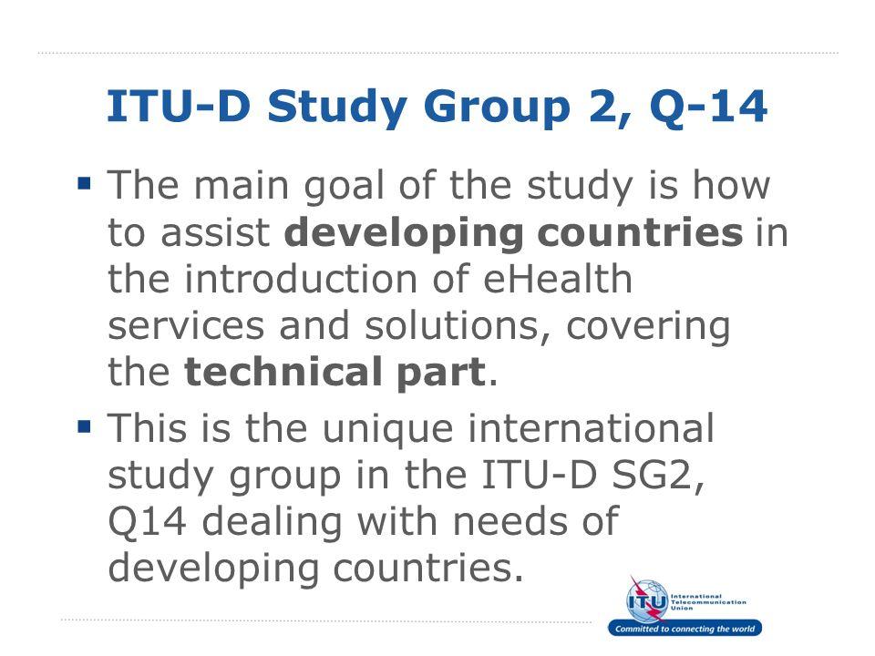 ITU-D Study Group 2, Q-14