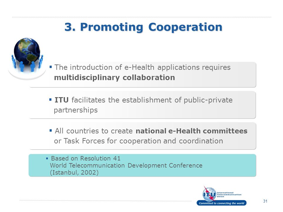 3. Promoting Cooperation