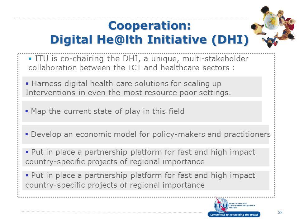 Cooperation: Digital He@lth Initiative (DHI)