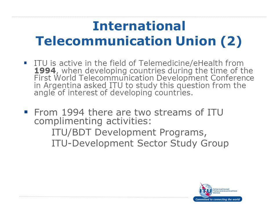 International Telecommunication Union (2)