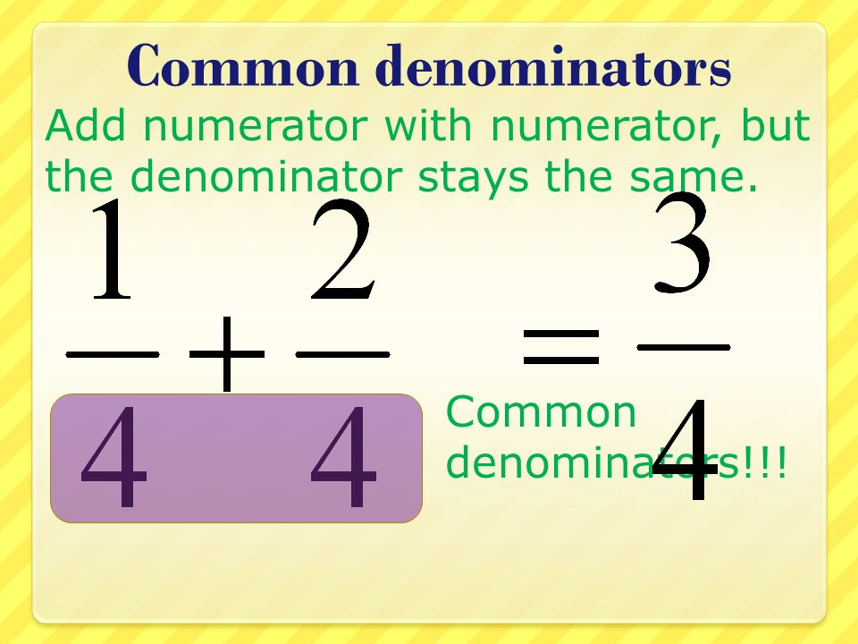 3 Ways to find a common Denominator - YouTube