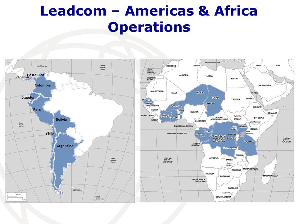 Leadcom – Americas & Africa Operations