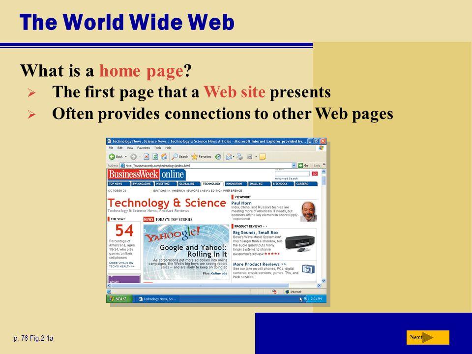 page site internet