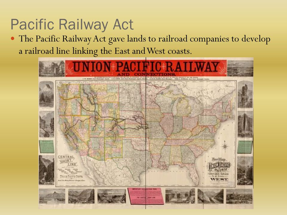 Pacific Railroad Act of 186