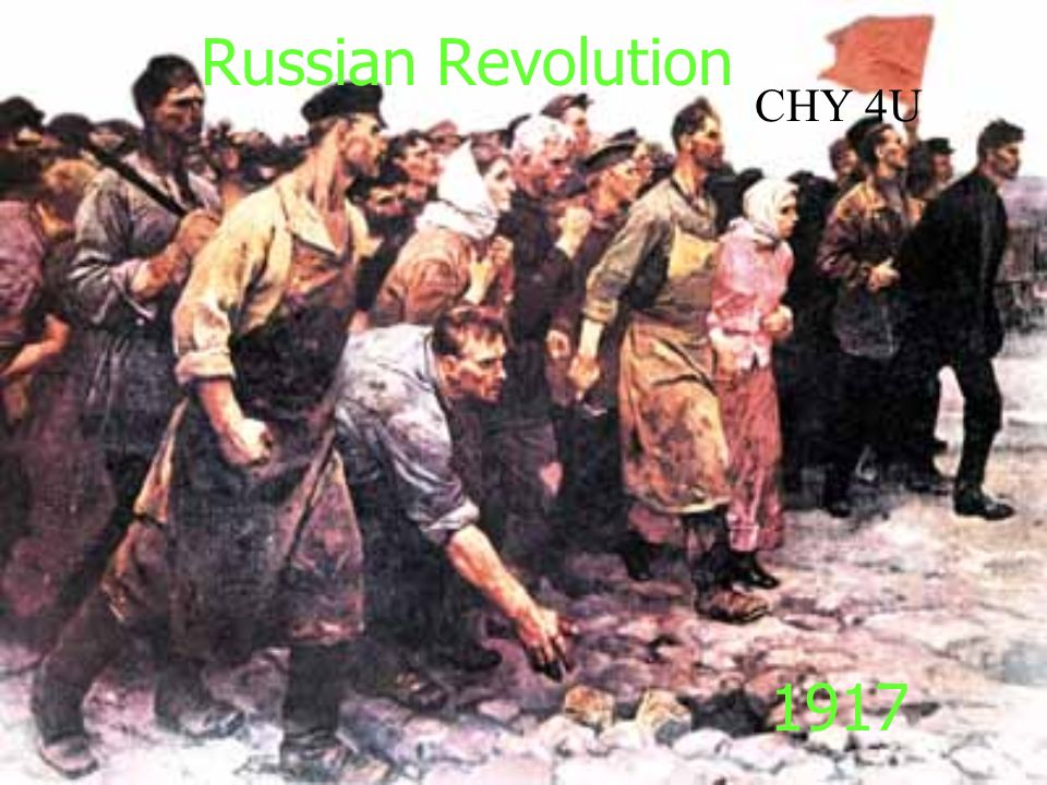 an essay on the russian revolution