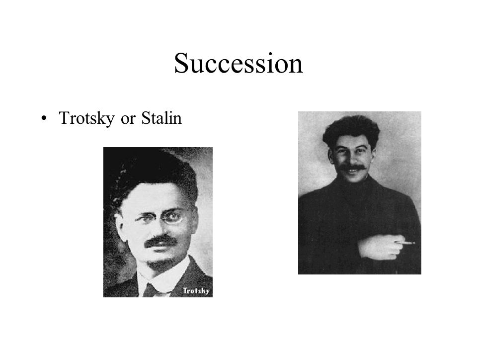 comparison stalin and trotsky Trotsky vs snowball: similarities and differences between the russian revolutionary and the well-spoken pig from animal farm.