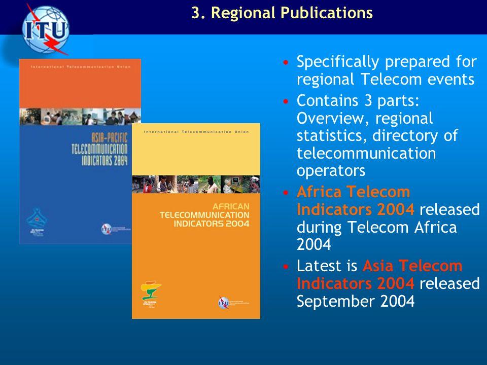 3. Regional Publications