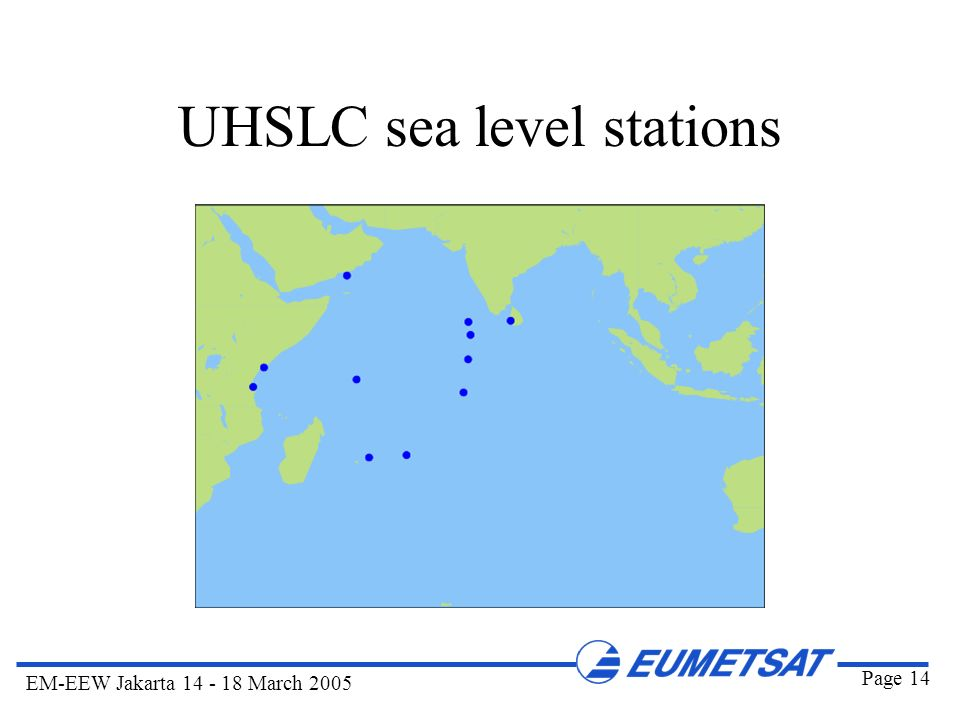 UHSLC sea level stations