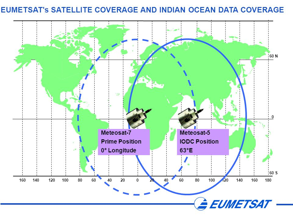 EUMETSAT s SATELLITE COVERAGE AND INDIAN OCEAN DATA COVERAGE