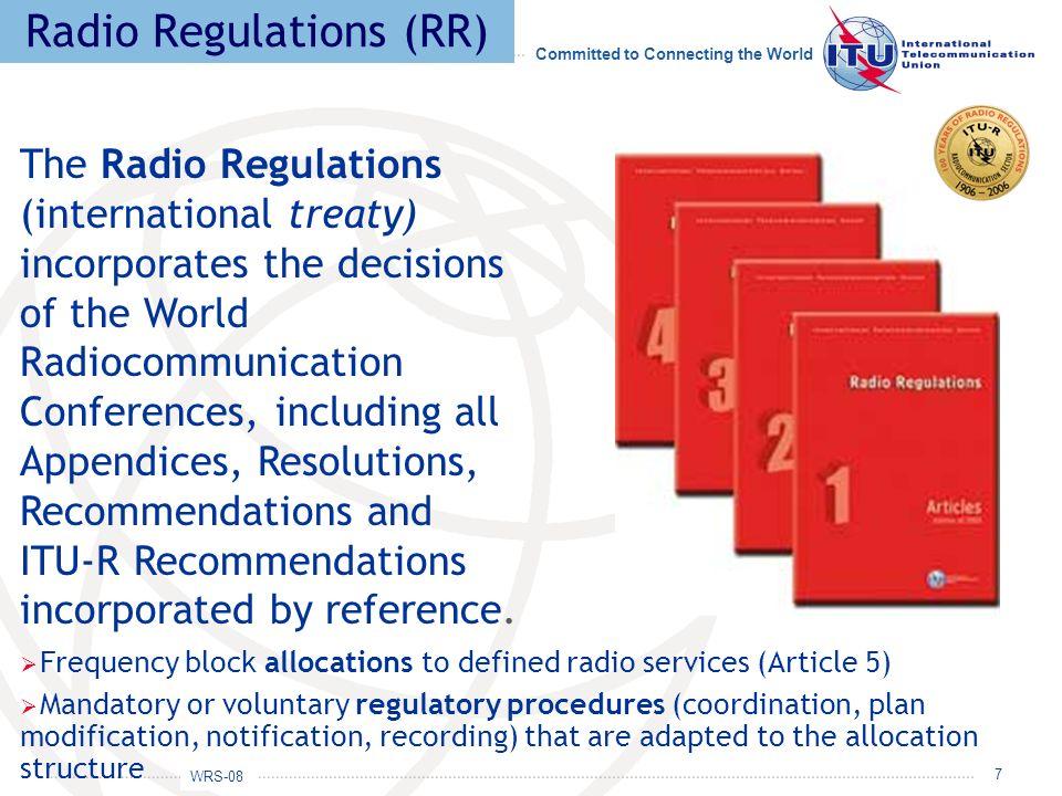 Radio Regulations (RR)