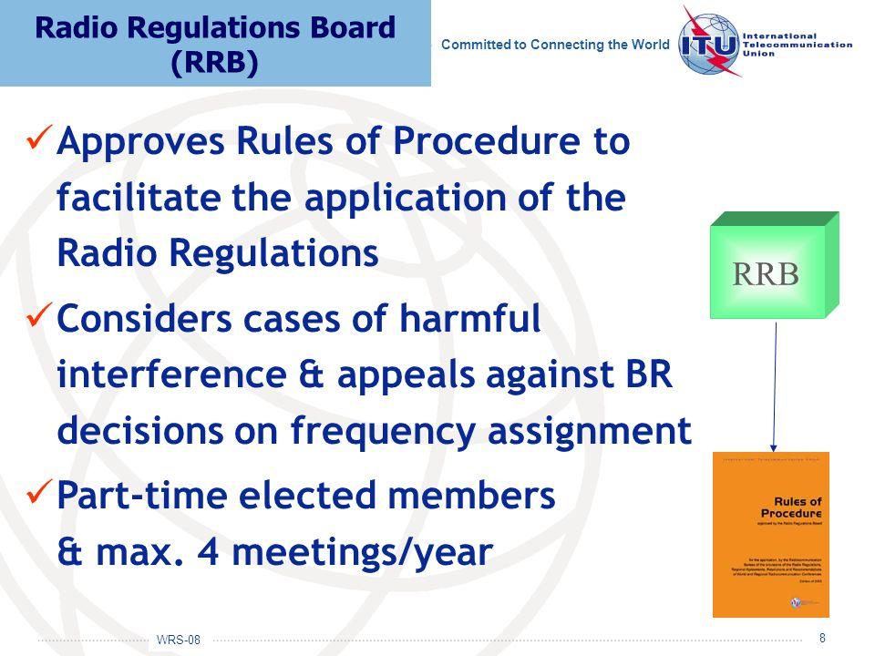 Radio Regulations Board (RRB)