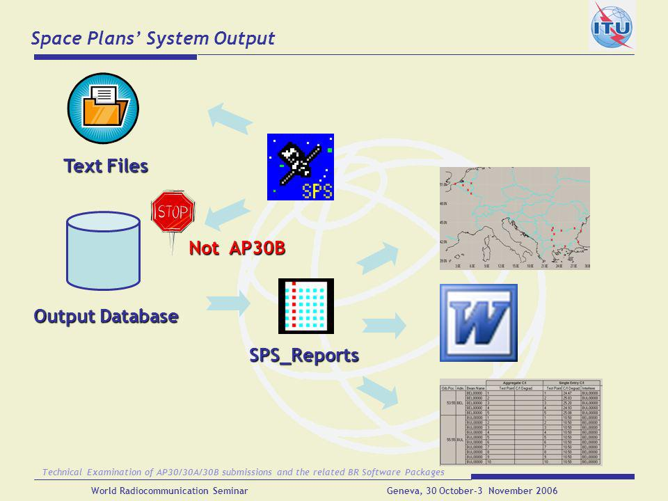 Space Plans' System Output