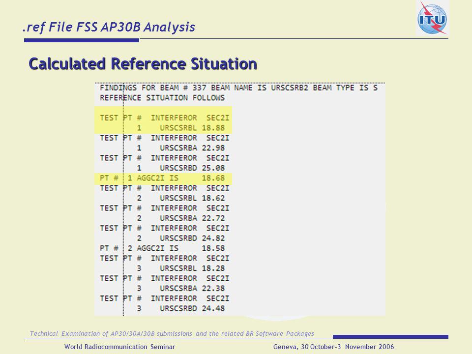 .ref File FSS AP30B Analysis