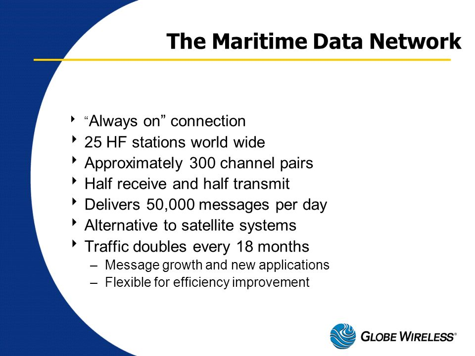 The Maritime Data Network