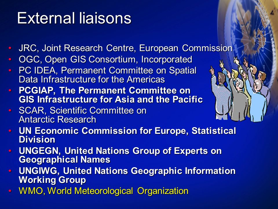 External liaisons JRC, Joint Research Centre, European Commission