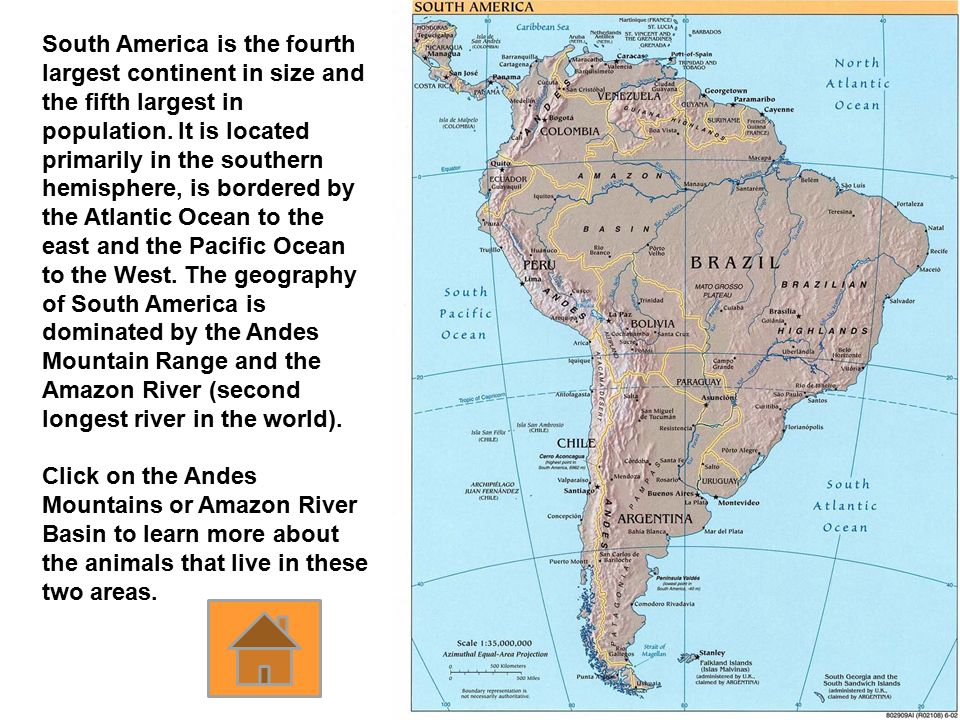 Continent Map Click On A Continent To Learn More About It Ppt - What is the biggest continent