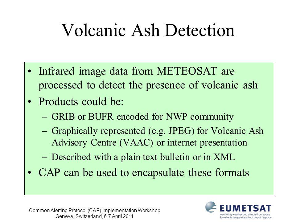 Volcanic Ash Detection