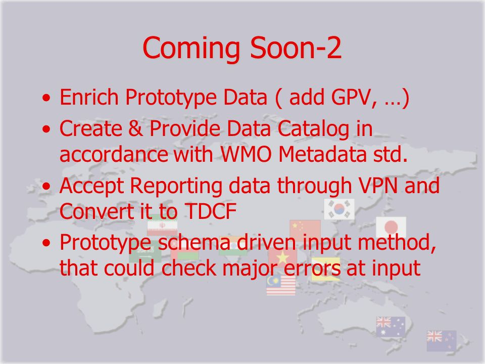 Coming Soon-2 Enrich Prototype Data ( add GPV, …)