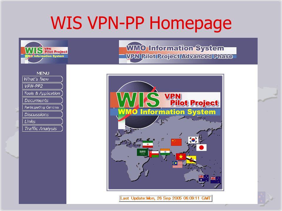 WIS VPN-PP Homepage