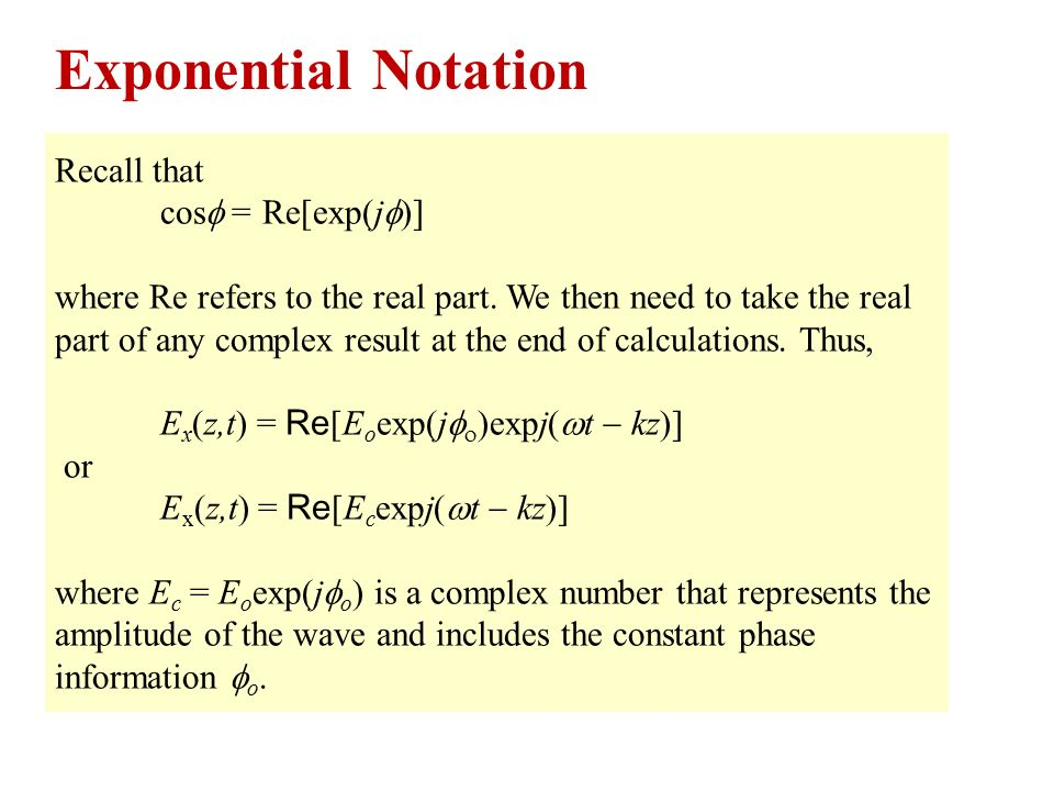 how to write a number in exponential notation