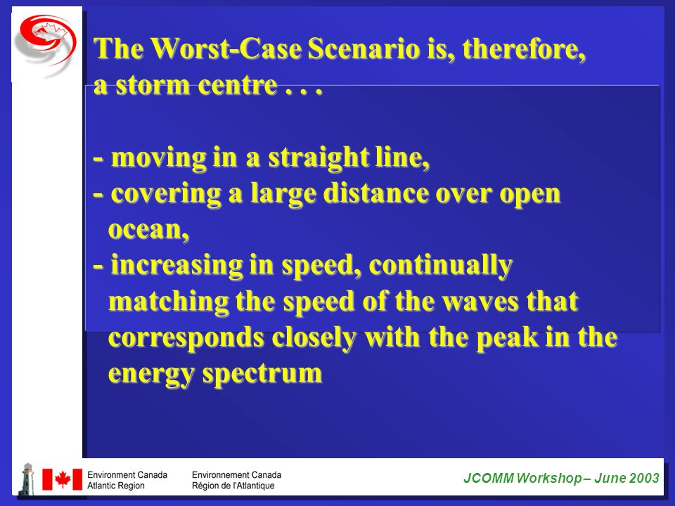 The Worst-Case Scenario is, therefore, a storm centre