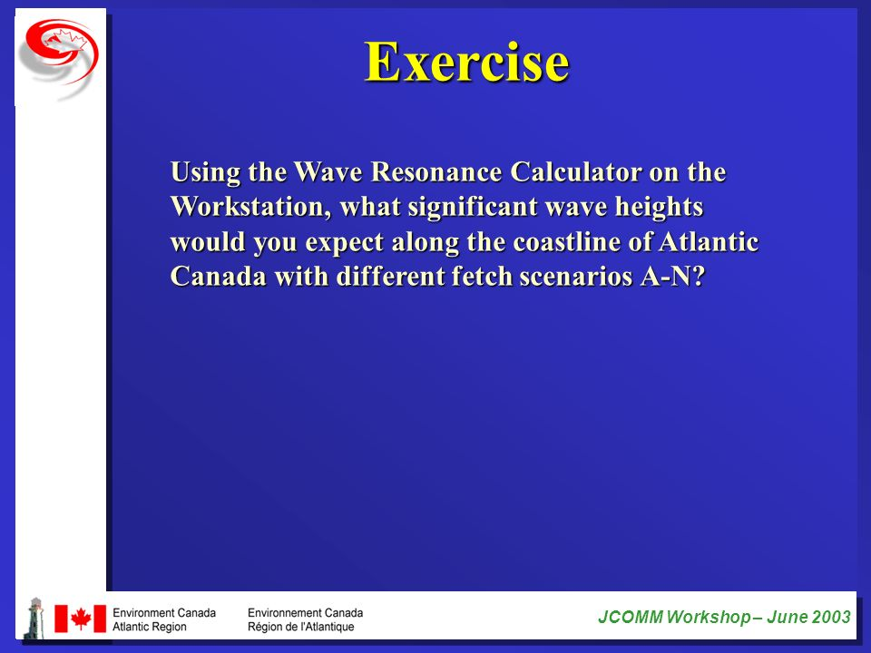 Exercise Using the Wave Resonance Calculator on the