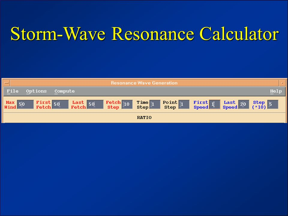 Storm-Wave Resonance Calculator