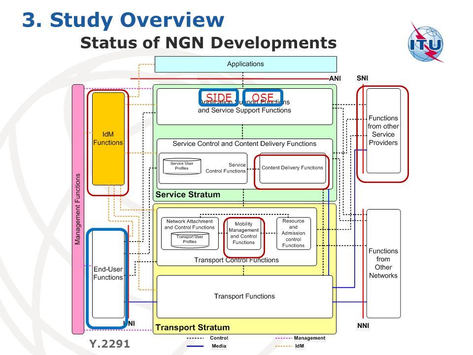 Status of NGN Developments
