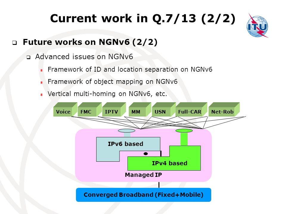 Converged Broadband (Fixed+Mobile)