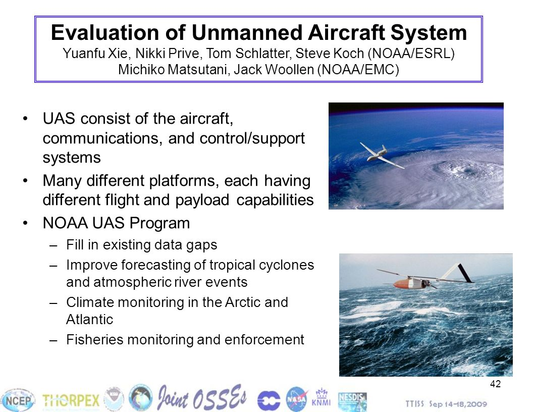Evaluation of Unmanned Aircraft System