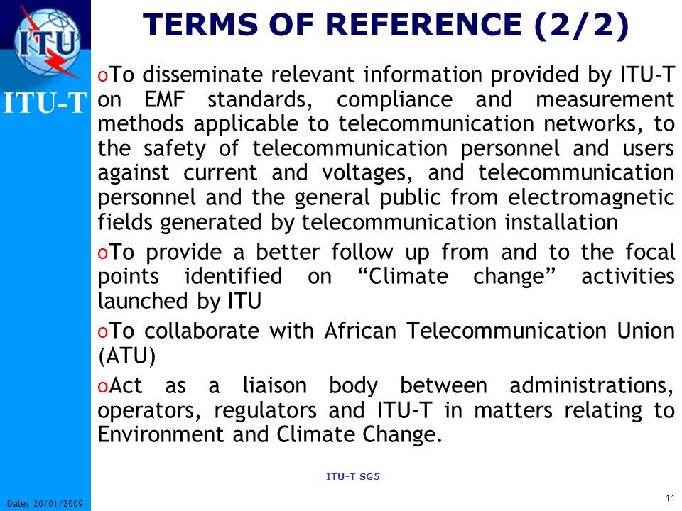 TERMS OF REFERENCE (2/2)