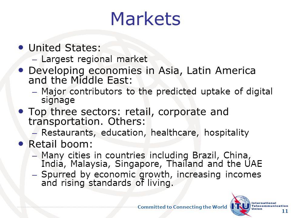 Markets United States:
