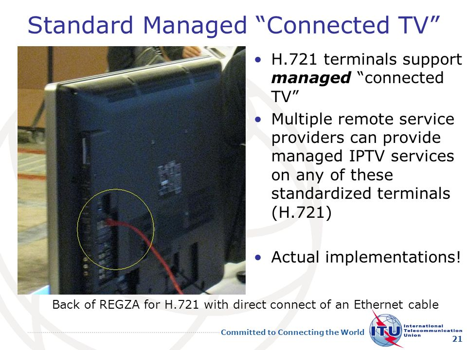 Standard Managed Connected TV