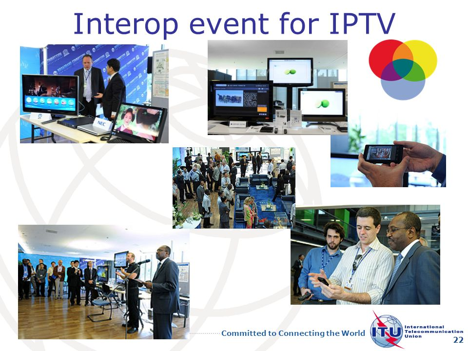 Interop event for IPTV