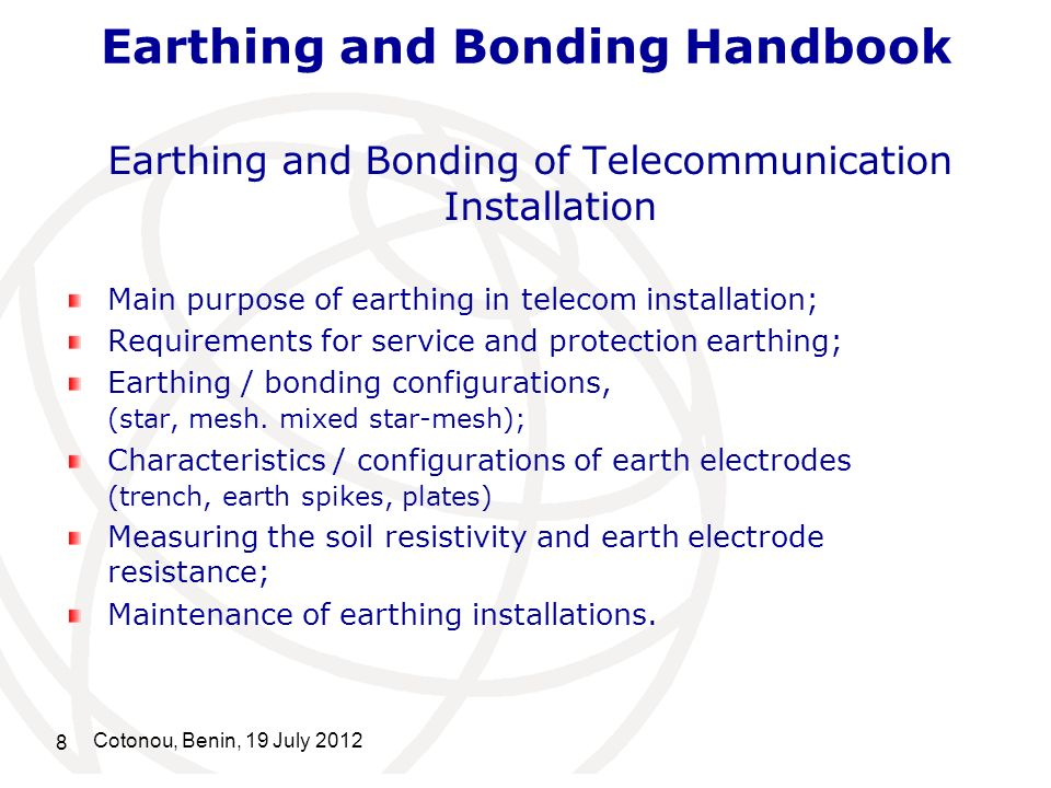 Earthing and Bonding Handbook