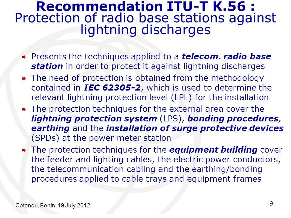 Recommendation ITU-T K