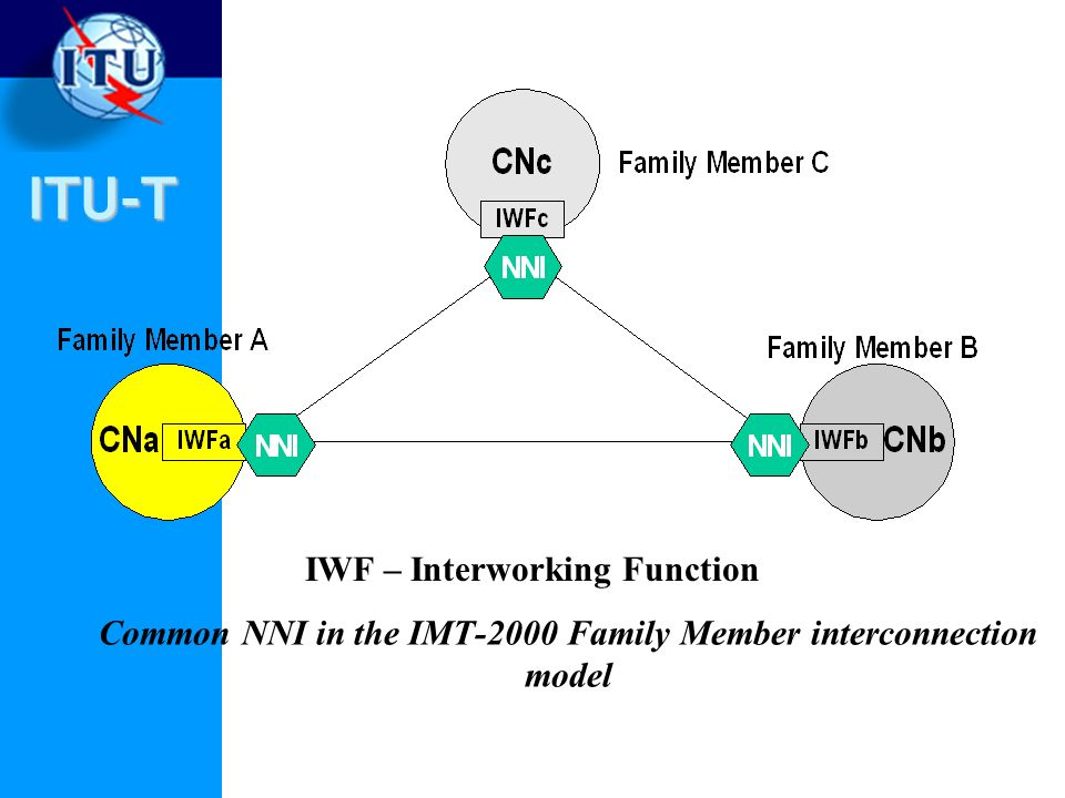 Common NNI in the IMT‑2000 Family Member interconnection model