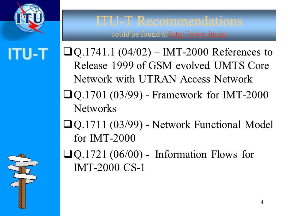 ITU-T Recommendations could be found at
