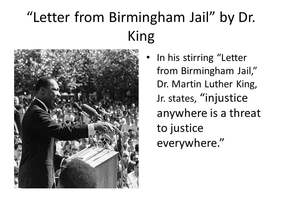 an analysis of the life of martin luther king Based on martin luther king, jr's letter from birmingham jail in why we can't wait, penguin books, 1963 we often view the six steps as a phases or cycles of a campaign rather than steps because each of them embodies a cluster or series of activities related to each of the other five.