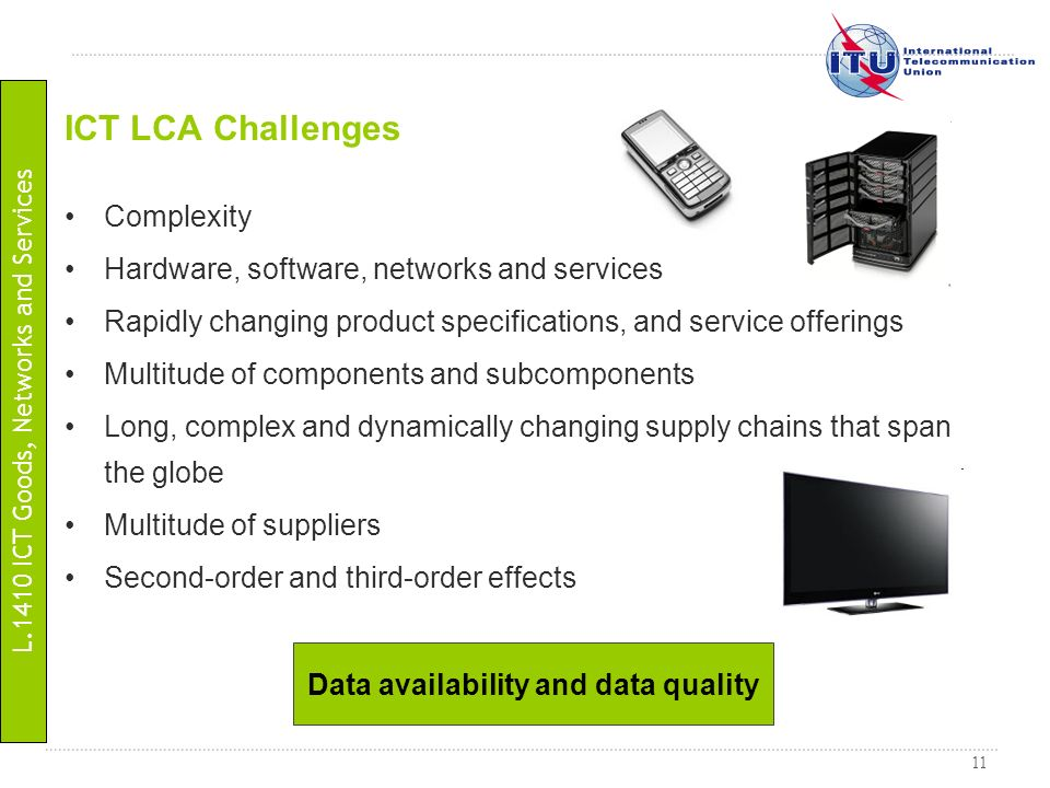 Data availability and data quality