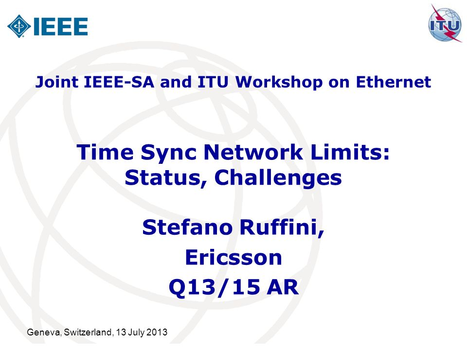 Time Sync Network Limits: Status, Challenges