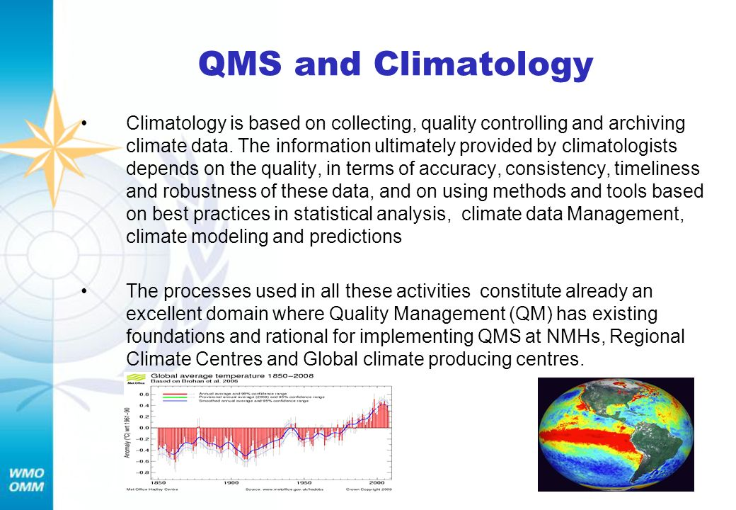 QMS and Climatology