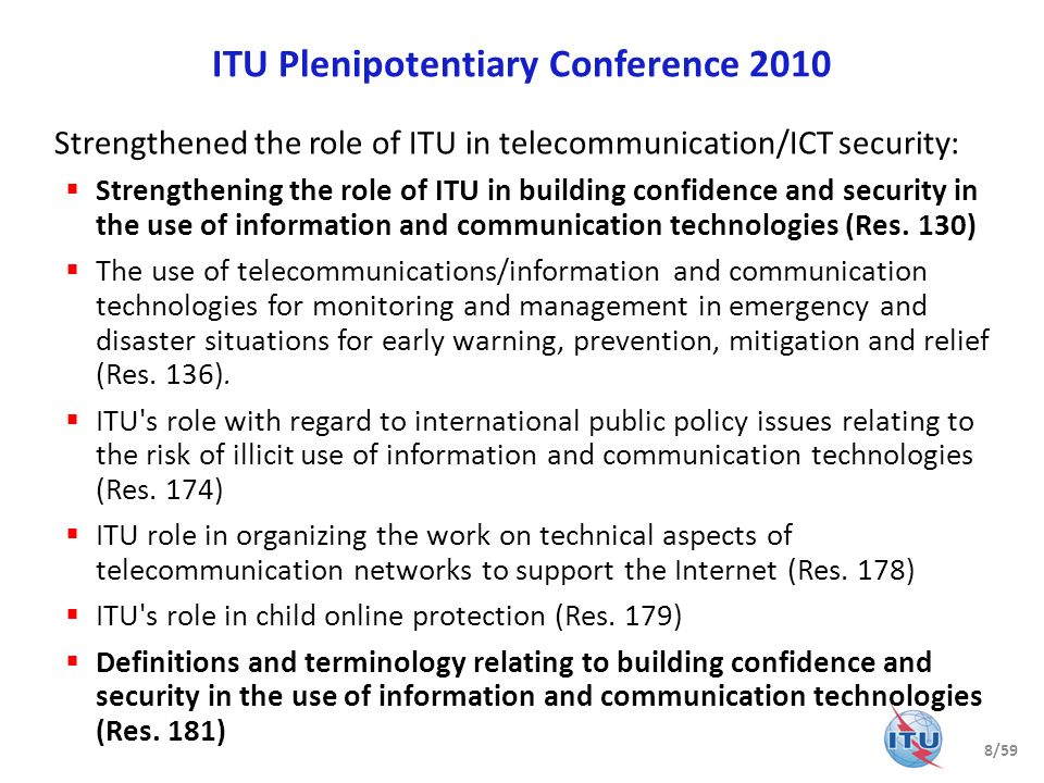 ITU Plenipotentiary Conference 2010