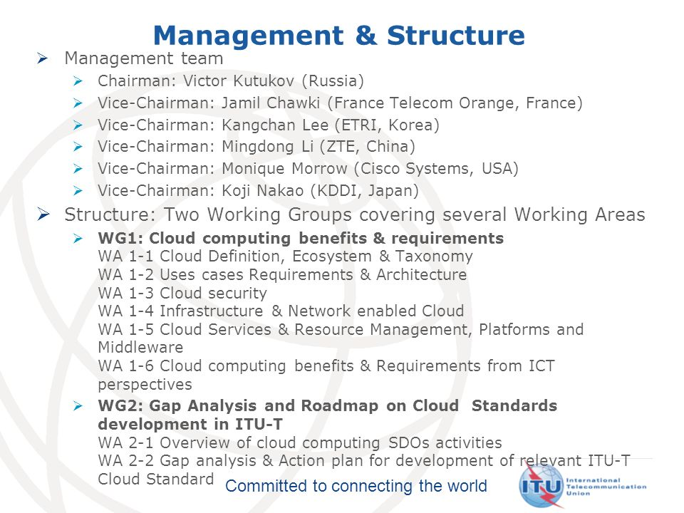 Management & Structure