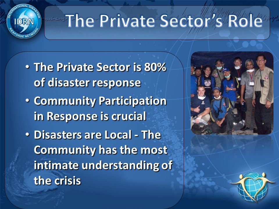 International Disaster Response Network - ppt video online ...